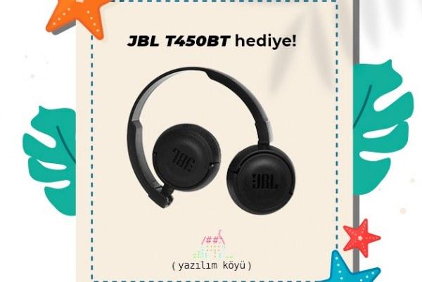 """""""JBL T450BT Kablosuz Kulaklık"""" Yazilimkoyu.org'a kayıt olan 1 kişiye hediye!"""