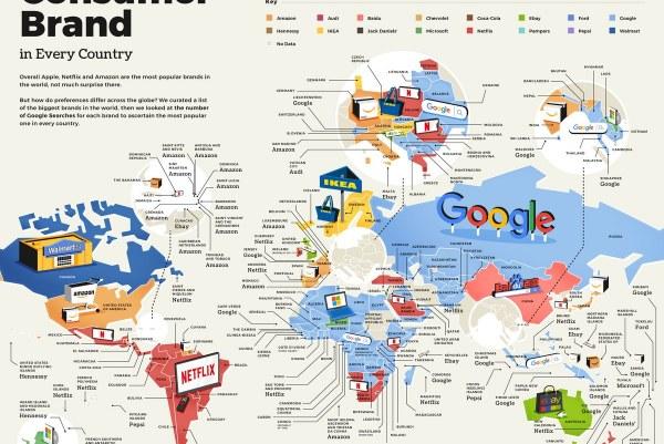 Dünyanın En Çok Aranan Tüketici Markaları