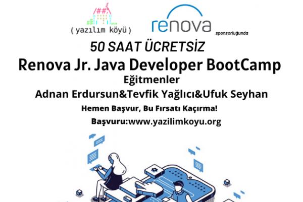 Renova Consulting'de Kariyer Fırsatı! Jr. Java Developer BootCamp