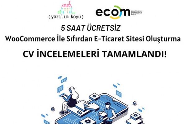 Fikret Tozak ile WooCommerce ile Sıfırdan E-Ticaret Sitesi Oluşturma Eğitimi CV İnceleme Sonuçları